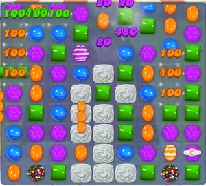 Candy Crush level 1000