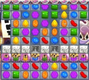 Candy Crush level 714