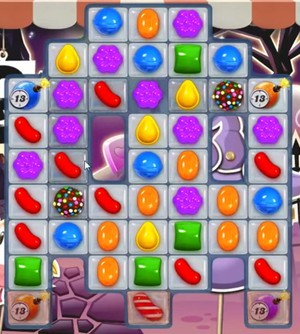 Candy Crush level 720