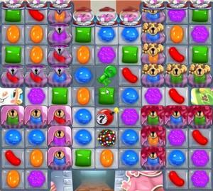 Candy Crush level 727