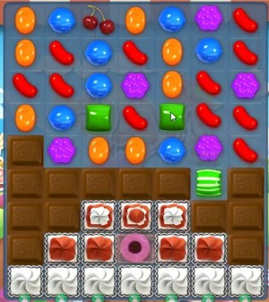 Candy Crush level 729