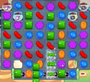 Candy Crush level 741