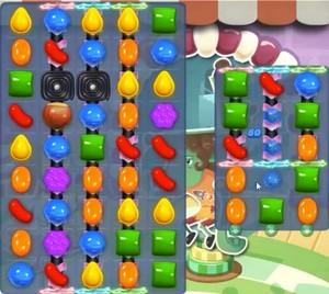 Candy Crush level 757