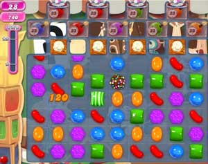 Candy Crush level 773