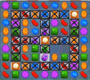 Candy Crush level 814