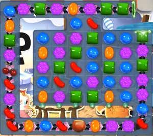 Candy Crush level 818