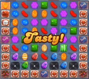 Candy Crush level 821