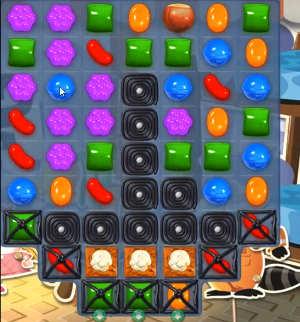 Candy Crush level 825