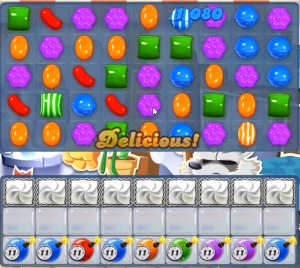 Candy Crush level 830