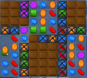 Candy Crush level 831