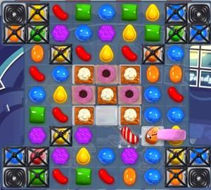 Candy Crush level 838