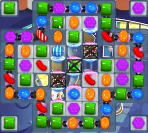 Candy Crush level 843