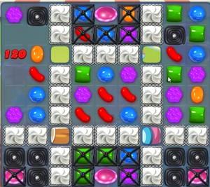 Candy Crush level 848