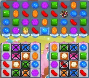 Candy Crush level 854