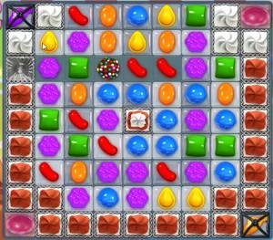 Candy Crush level 855