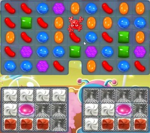 Candy Crush level 856