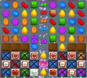 Candy Crush level 858