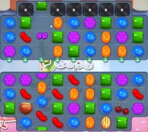 Candy Crush level 884
