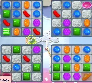 Candy Crush level 887