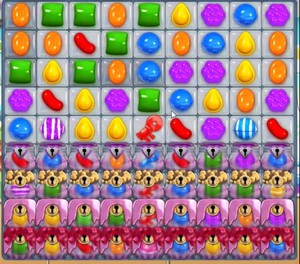 Candy Crush level 896