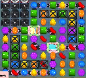 Candy Crush level 911