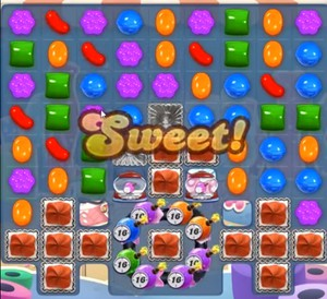 Candy Crush level 933