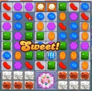 Candy Crush level 945