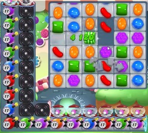 Candy Crush level 961