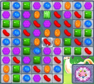 Candy Crush level 966