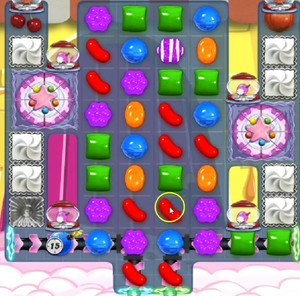 Candy Crush level 1005