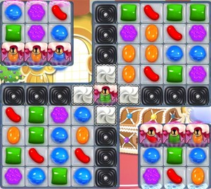 Candy Crush level 1017