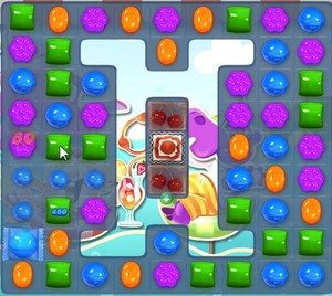 Candy Crush level 1037
