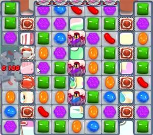 Candy Crush level 1058
