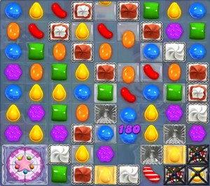 Candy Crush level 1087