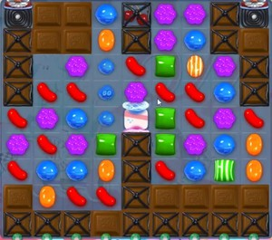Candy Crush level 1122