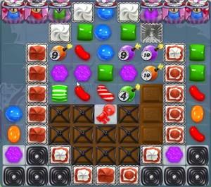 Candy Crush level 1145