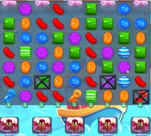 Candy Crush level 1161