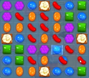 Candy Crush level 1164