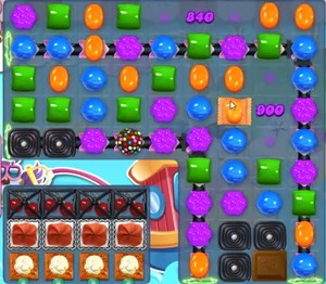 Candy Crush level 1165
