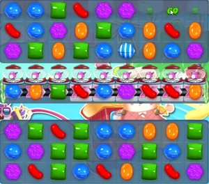Candy Crush Level 1167