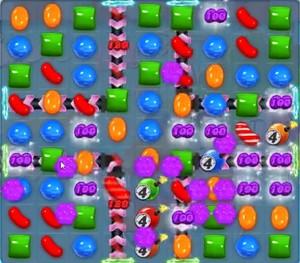 Candy Crush level 1168