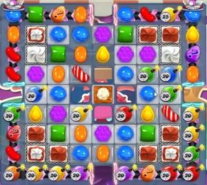 Candy Crush level 1185