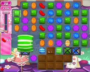 Candy Crush level 1186