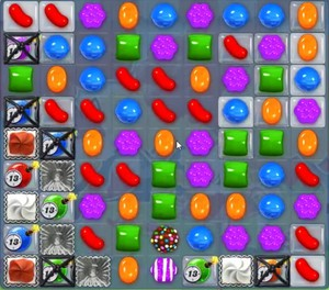 Candy Crush level 1194