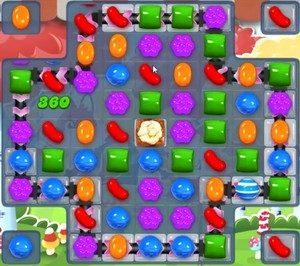 Candy Crush level 1195