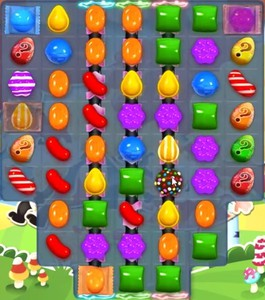 Candy Crush level 1201