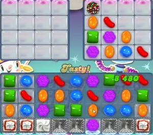 Candy Crush level 1208