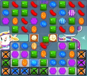 how to clear popcorn in candy crush
