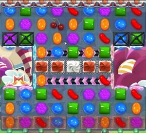 Candy Crush level 1233