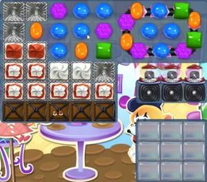 Candy Crush level 1257